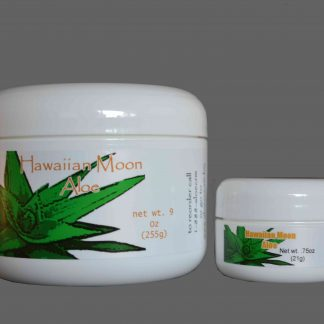 9oz oz Hawaiian Moon Aloe Vera Skin Cream with free travel